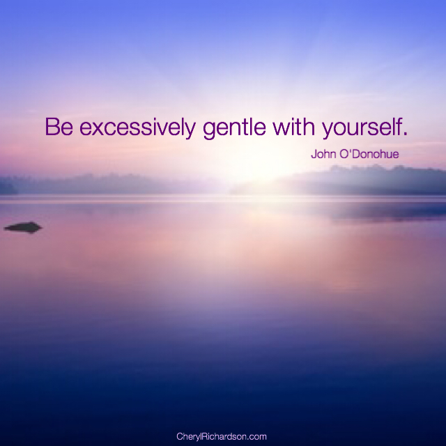 be excessively gentle
