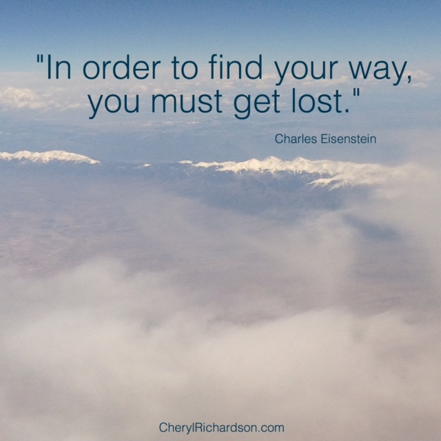 get lost to find your way
